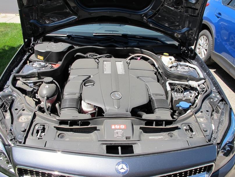Mercedes-CLS engine