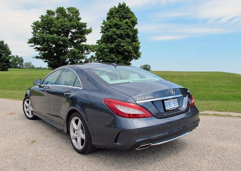 Mercedes-CLS rear