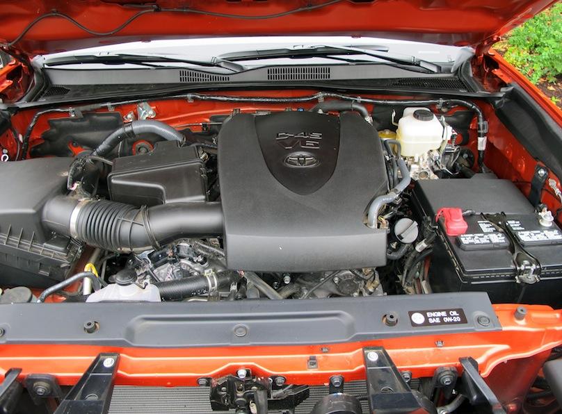 2016 Toyota tacoma engine