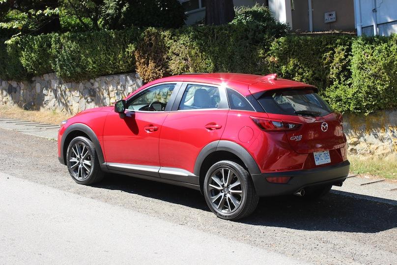2016 Mazda CX-3 rear