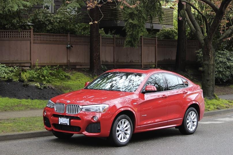 BMW X4 On Top 5 Luxury CUVs List  BMW X4 Forum