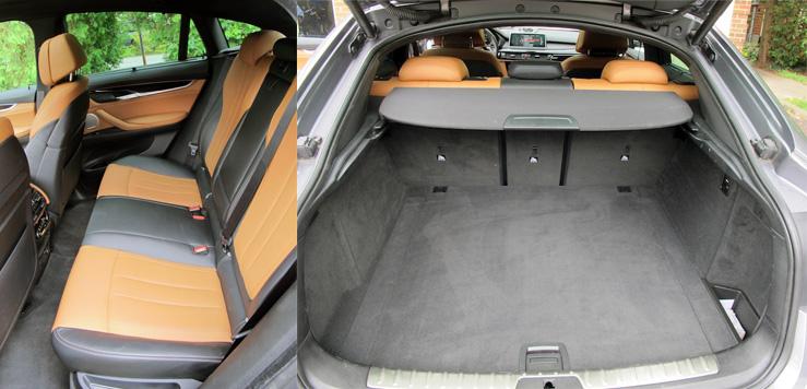 2015 BMW X6 xDrive50i interior
