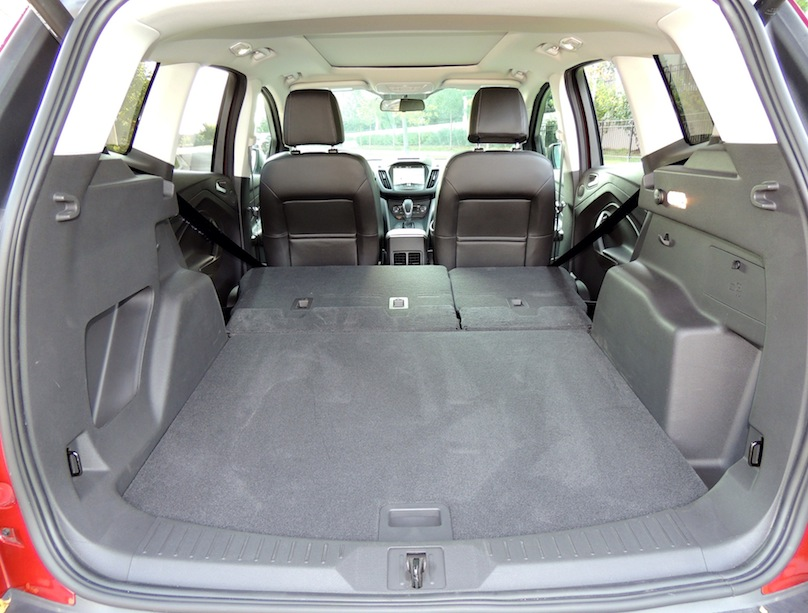 Ford Escape Car Seat Space