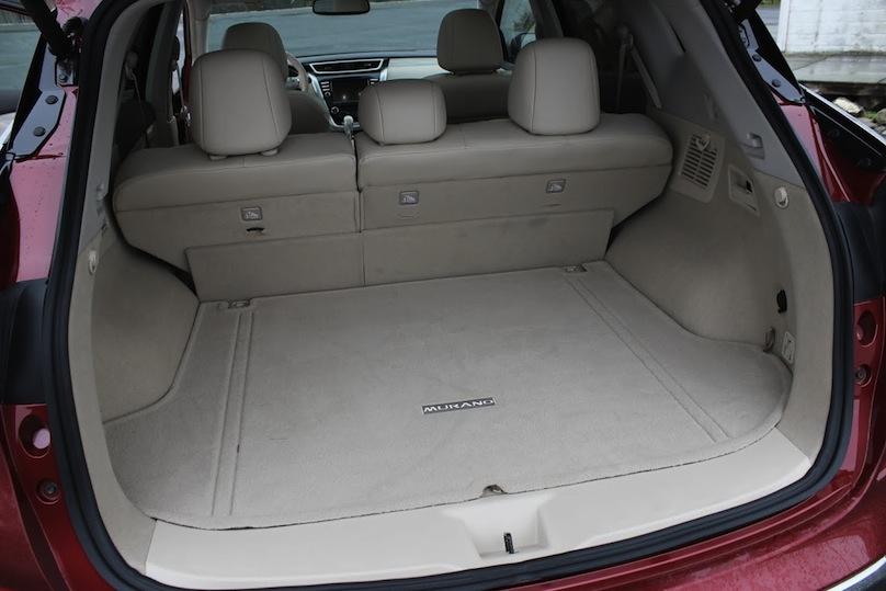 2016 Nissan Murano cargo