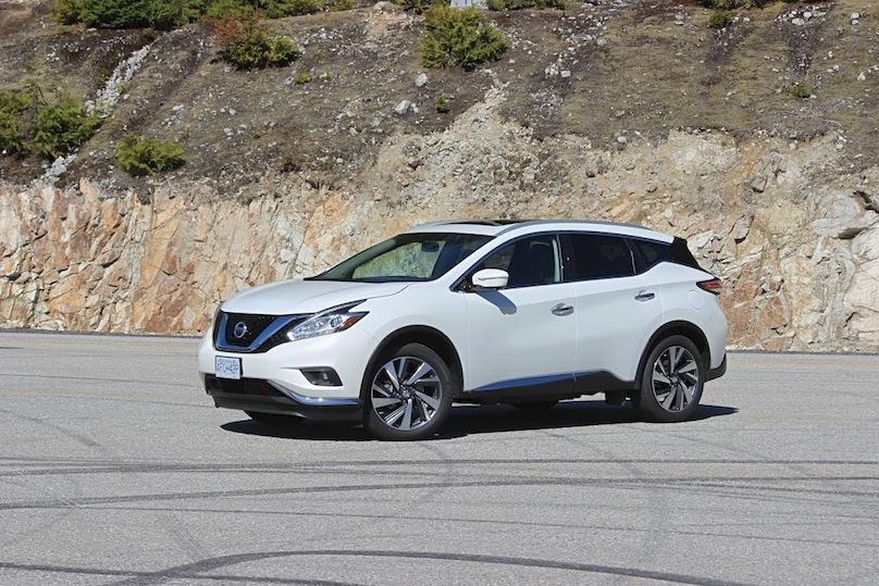 2016 Nissan Murano styling