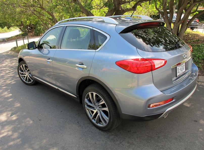 2016 Infiniti QX50 rear