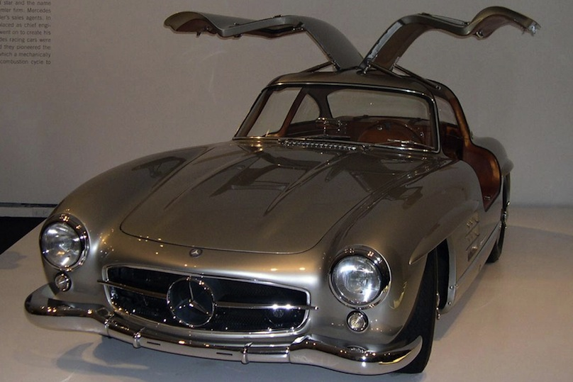 1954 1957 Mercedes Benz 300 SL Gull Wing Coupe