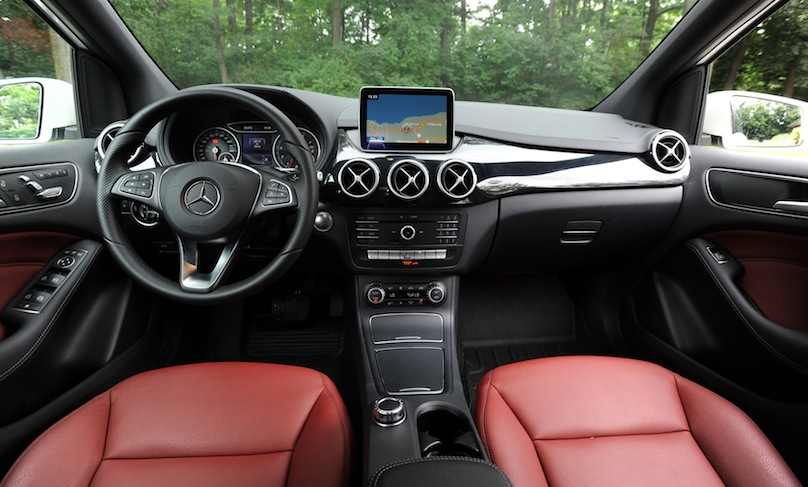 2015 Mercedes Benz B 250 4matic Review Wheels Ca