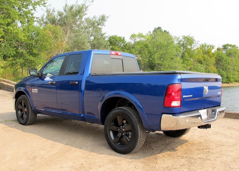 2015 Ram 1500 rear