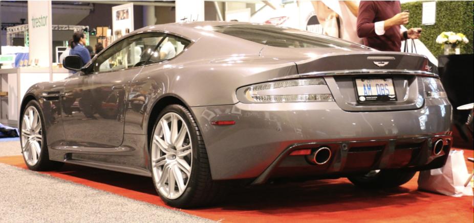 2011 Aston Martin DBS rear