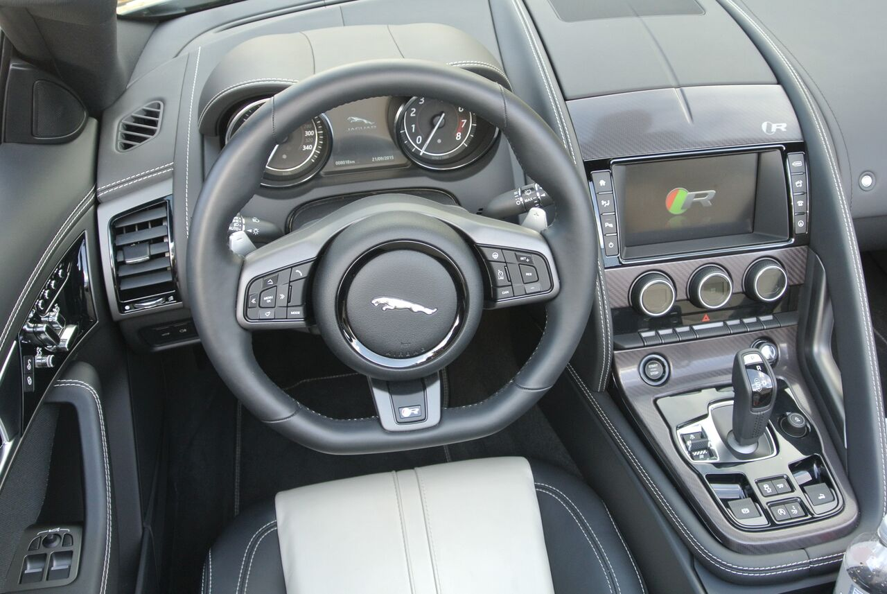 2016 Jaguar F Type Interior