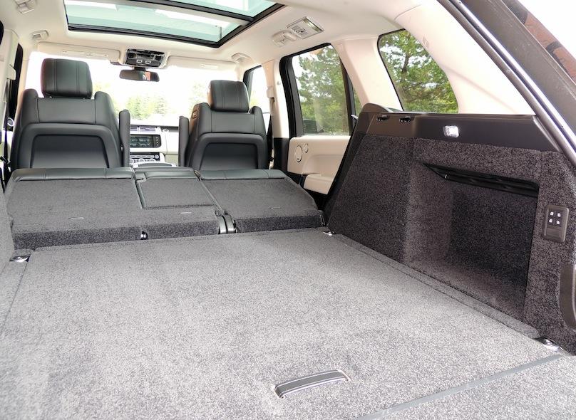 2016 Range Rover Td6 cargo