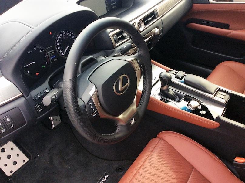 2015 Lexus GS interior
