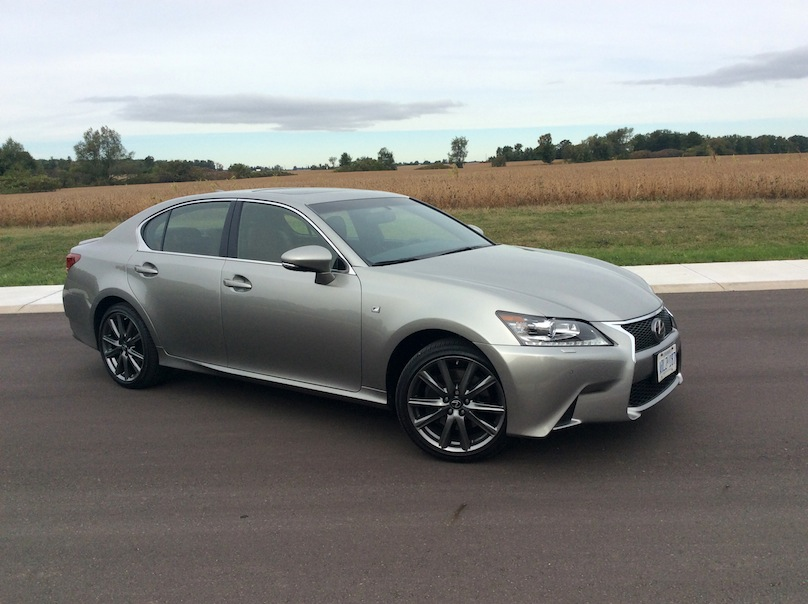 2015 Lexus GS side