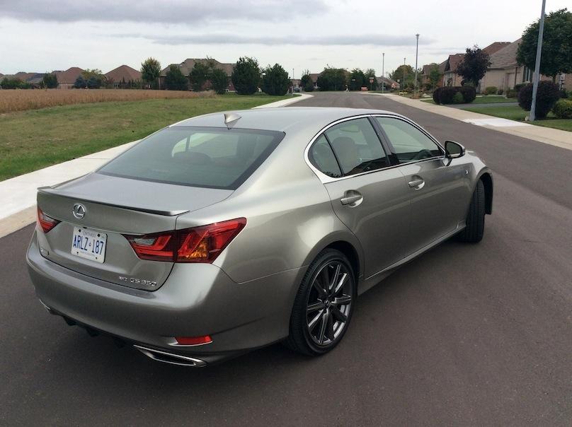 2015 Lexus GS rear