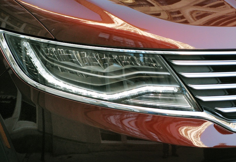 2016 Lincoln MKX Headlights