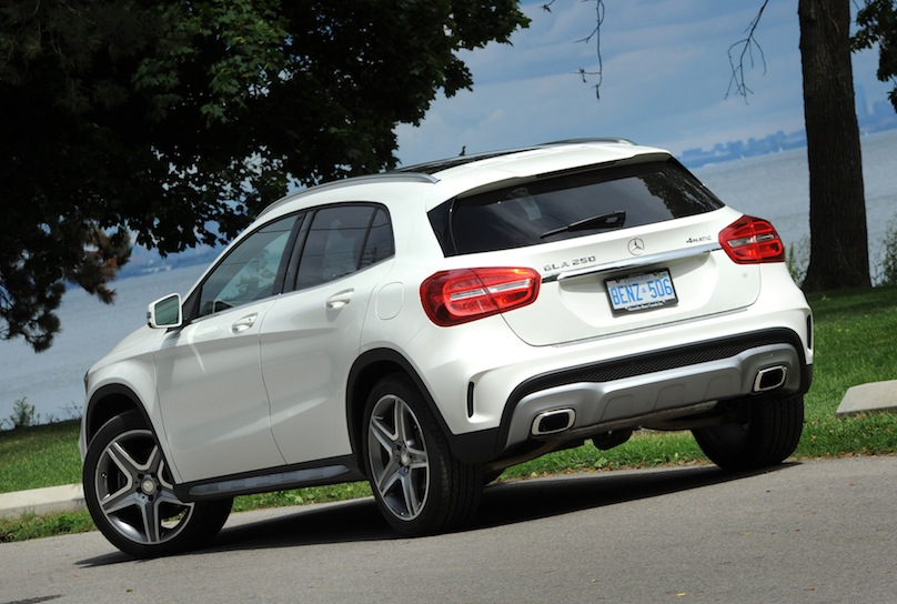 2015 Mercedes-Benz GLA 250 rear