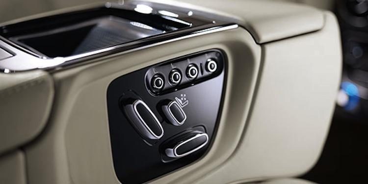 Jaguar Massage Seat
