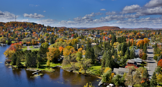 10 best fall drives in ontario for Landscape design ontario