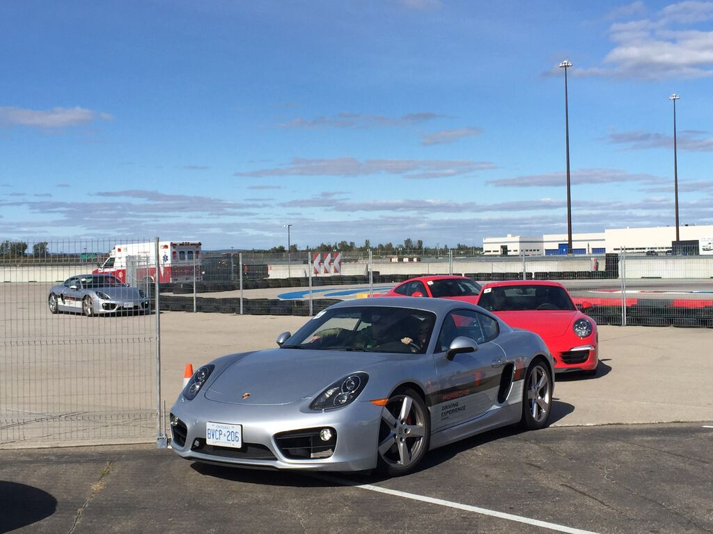 Porsche performance tour