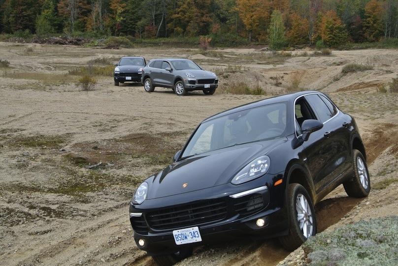 Porsche Cayenne off road