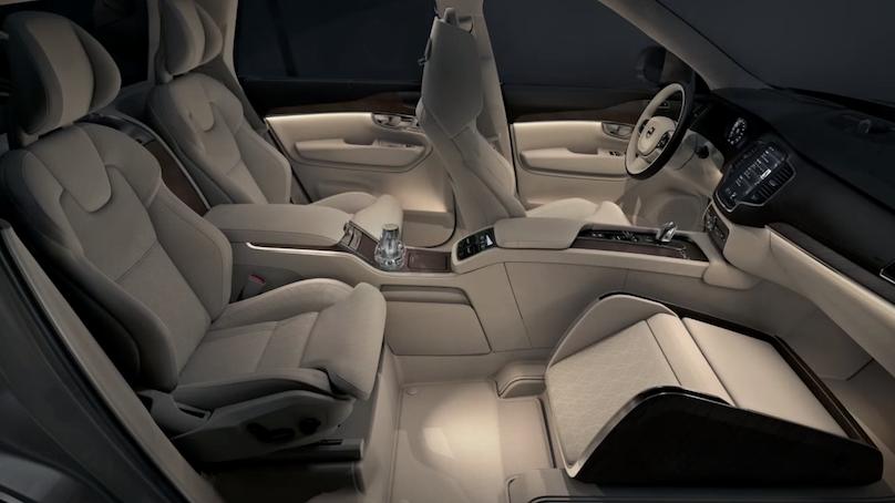 volvo luxury seat
