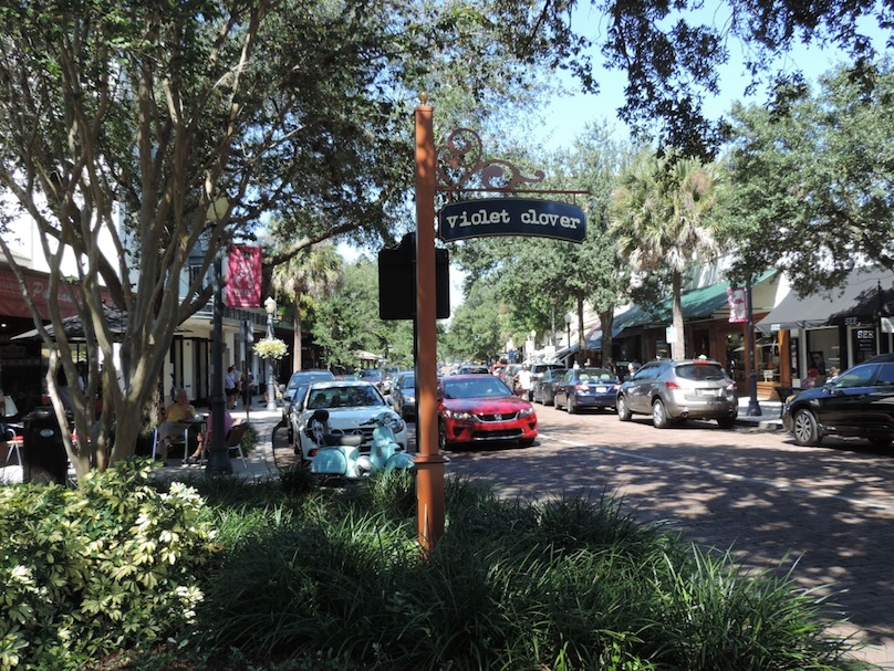 Winter Park's Tree lined streets
