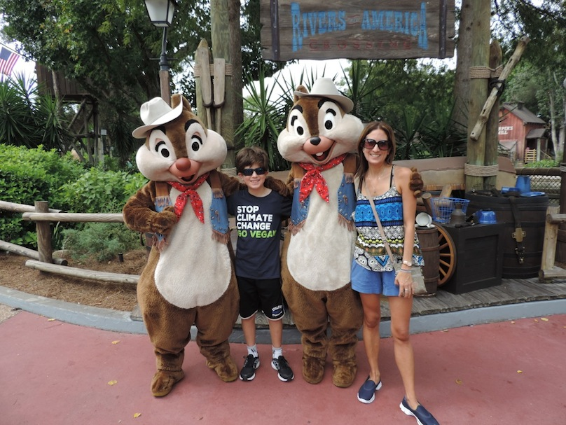 Chipmunks in Disneyland