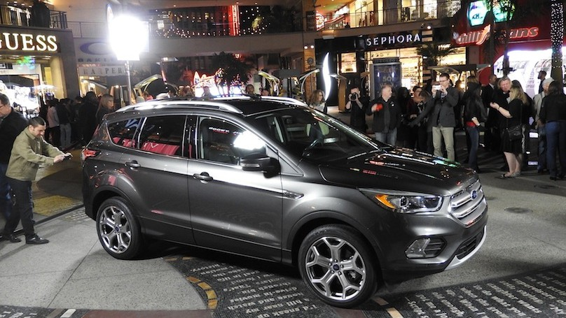 The Overhauled 2017 Ford Escape Looks Set to Challenge Honda's CR-V