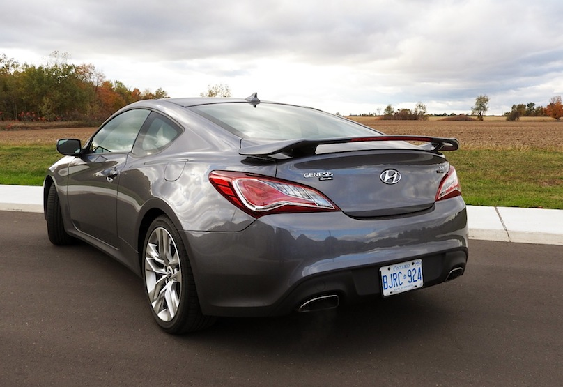 2015 Hyundai Genesis Coupe R Spec Rear