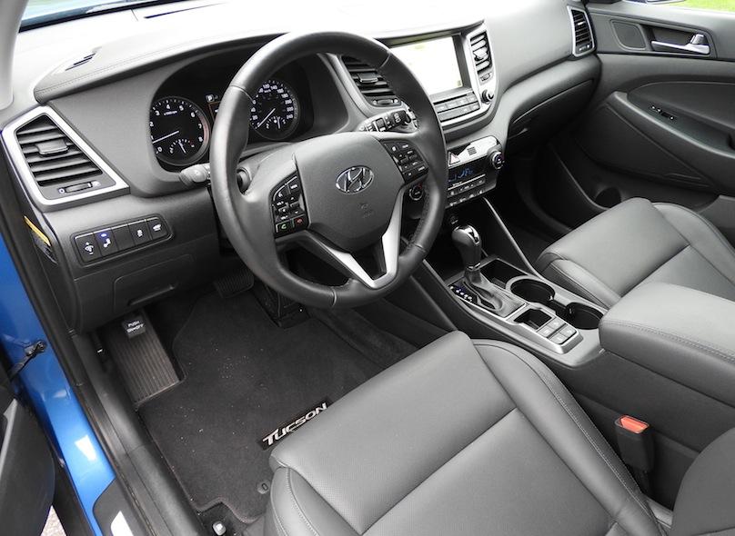2016 Hyundai Tucson 1 6 Limited Awd Review