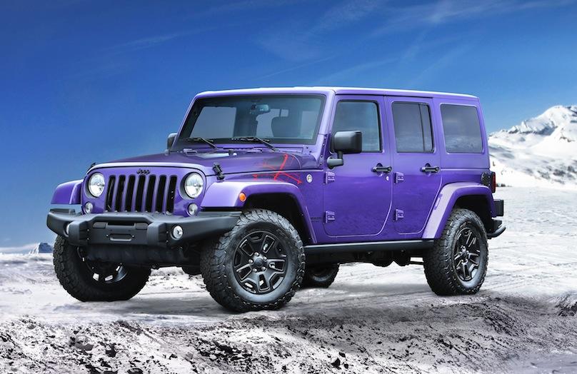 2016 Jeep Wrangler Backcountry