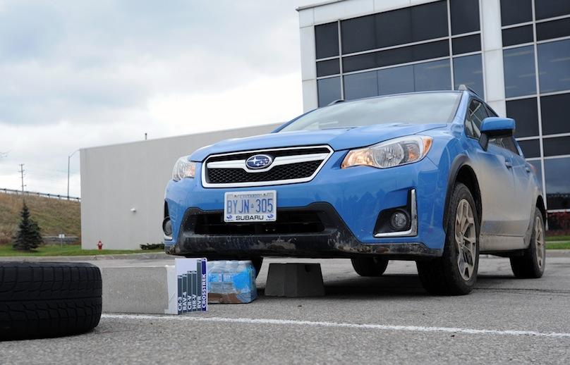 2016 Subaru Crosstrek obstacles