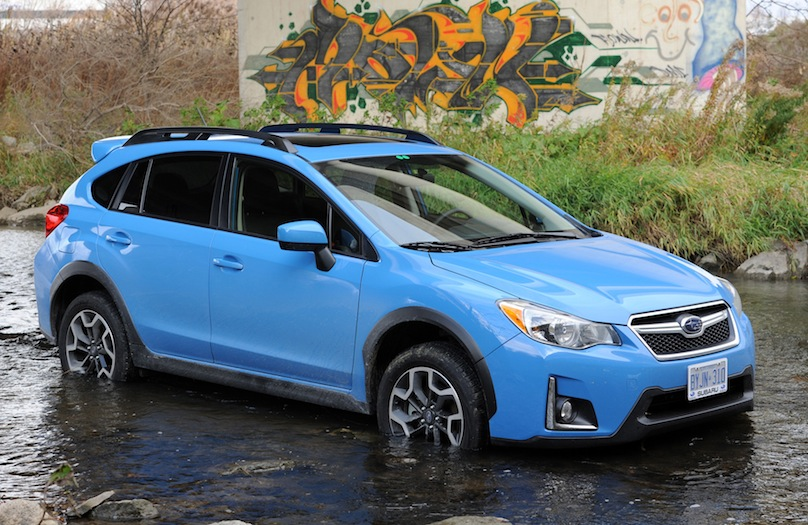 Subaru sports trek