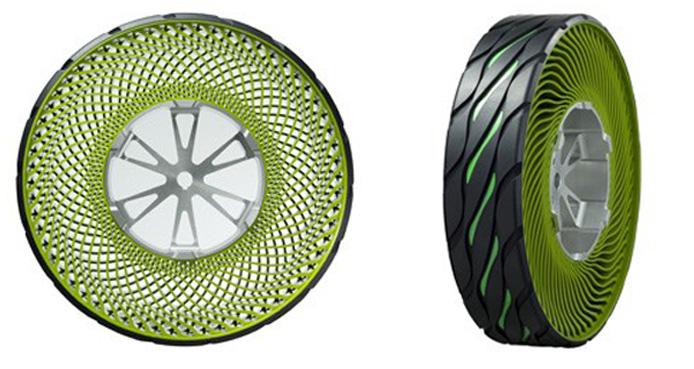 Bridgestone airless Tire