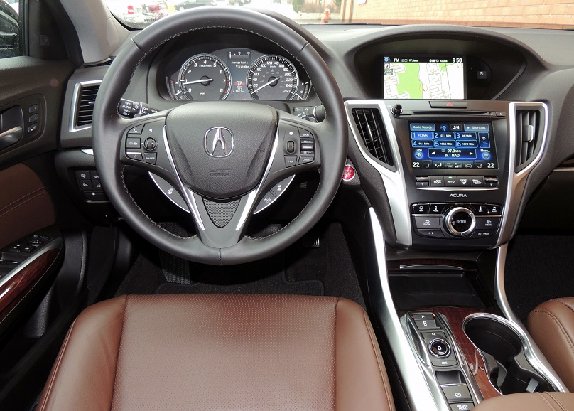 TLX Raises The Bar In Acuras Sedan Lineup WHEELSca - 2018 acura tl key
