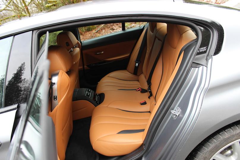650i rear seat