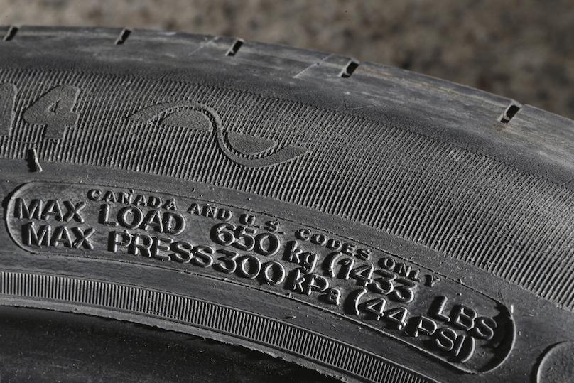 tire data