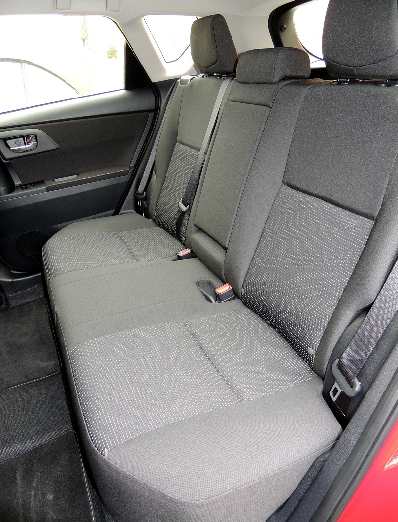 2016 Scion rear seats