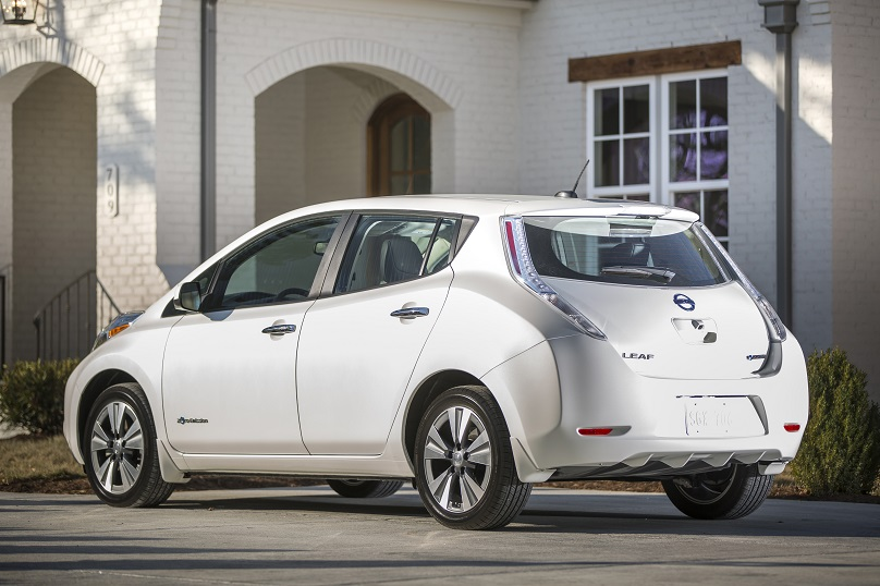 second hand nissan leaf is all charged up