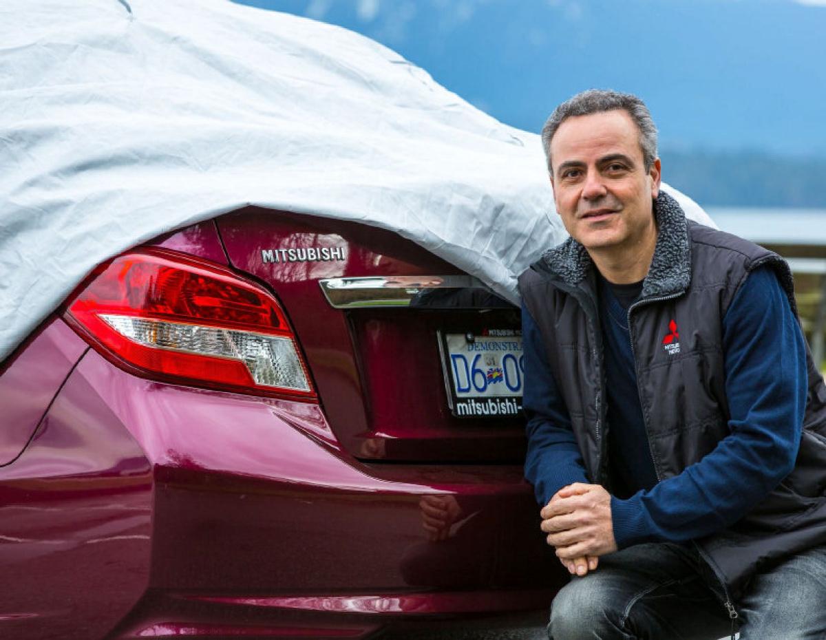 2017 Mitsubishi Sedan Teaser John Arnone