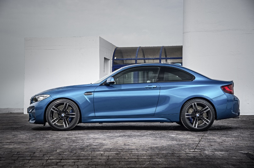 Briliant Blue 2 BMW M2 Coupe