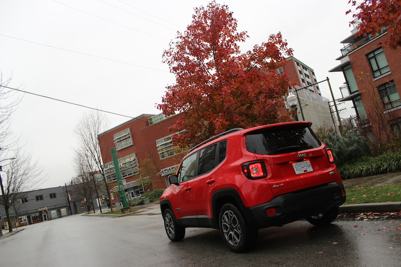 2016 Jeep Renegade rear