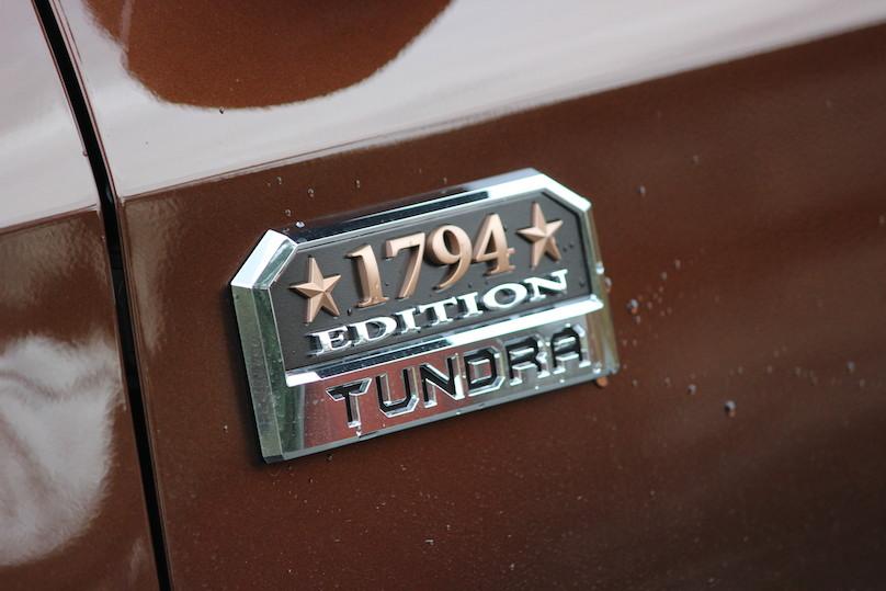 tundra 1794 badging