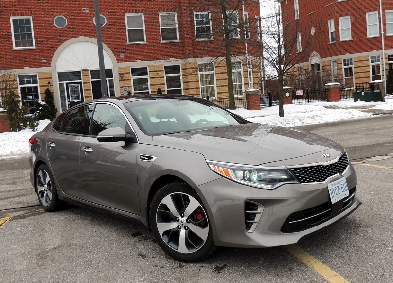 Kia Optima SXL Turbo 2016 main