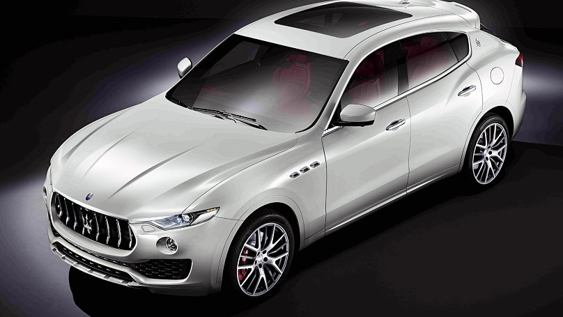 Maserati Levante is the Italian Brand's First SUV