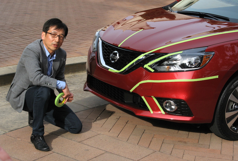 2016 Nissan Sentra with Taro Ueda