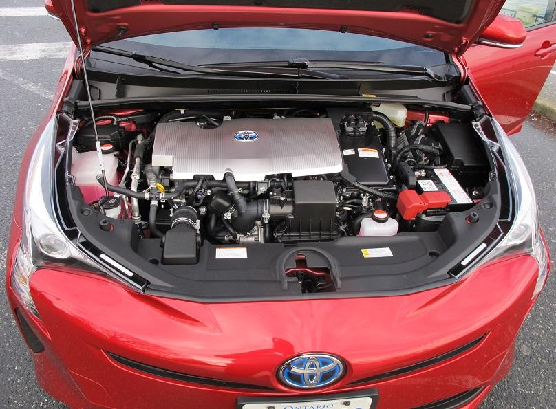 Prius powertrain