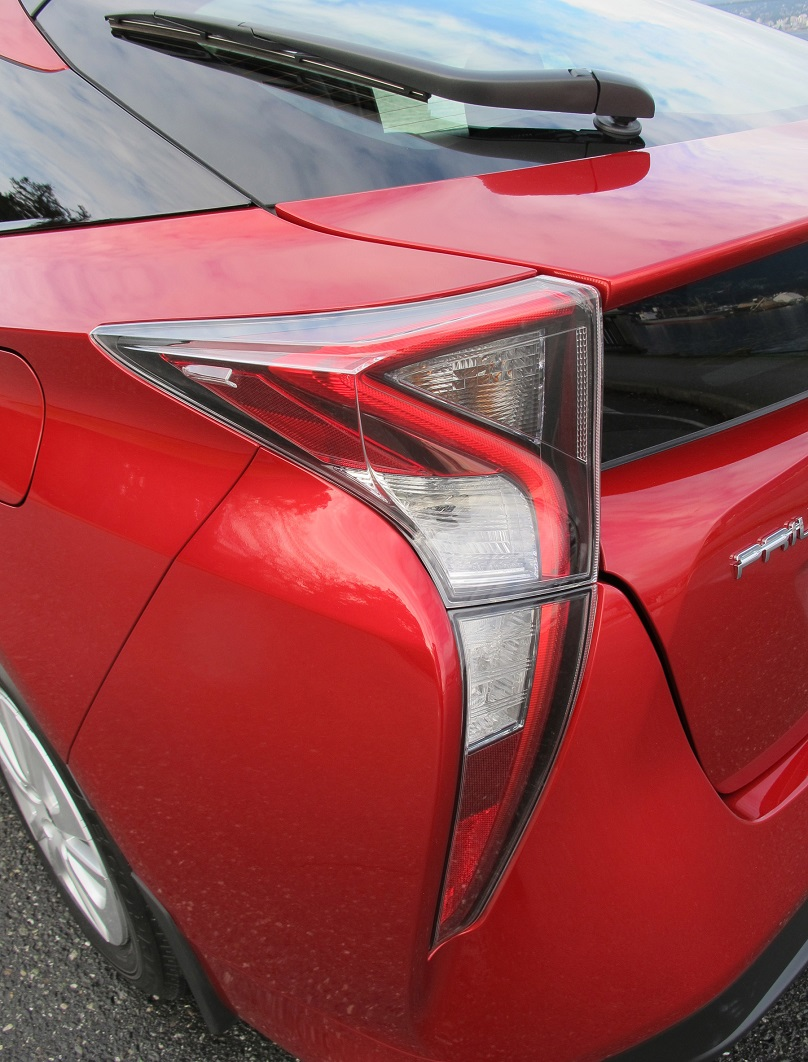 Prius tail light