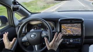 autonomous Nissan car
